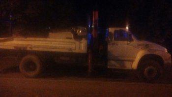 Robaron un camión
