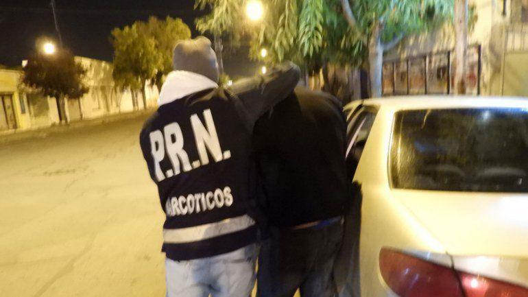 La detención del narco se produjo en un complejo turístico ubicado en Playas Doradas