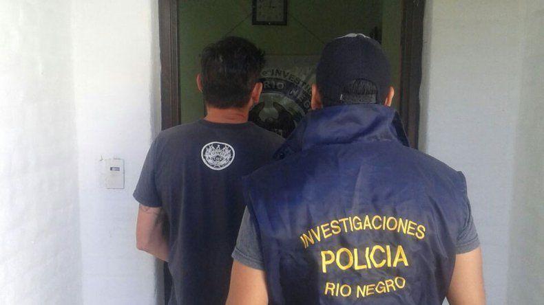 Benegas fue atrapado por la Brigada y sigue preso por una condena.