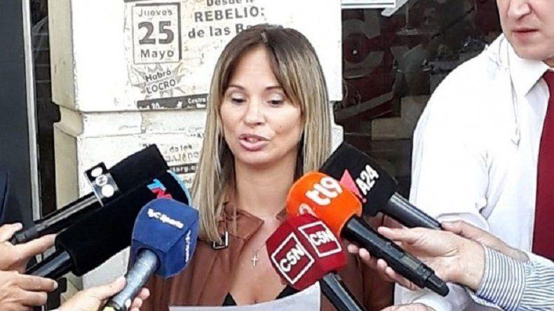 La fiscal Garibaldi dijo que Joaquín V. fue quien destapó todo. Aseguró que sigue siendo imputado.
