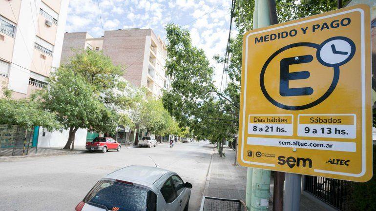 Los cambios en el estacionamiento pago arrancan el martes