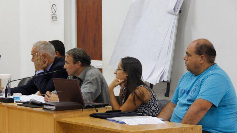 El juicio contra los policías motivó varias audiencias en los tribunales.