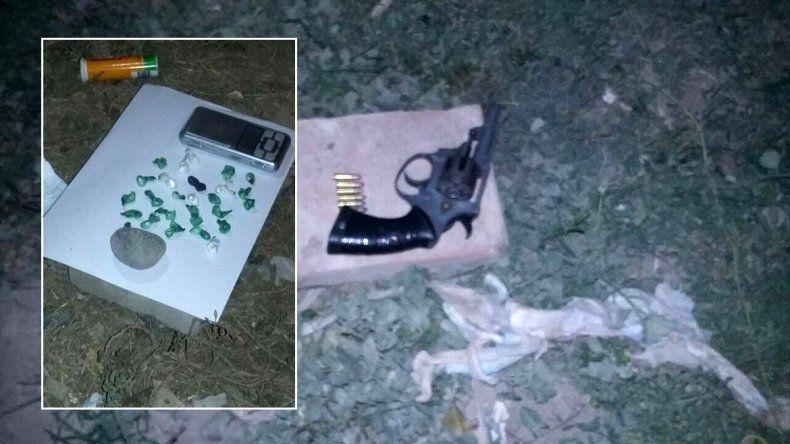 Guerra narco: tras una pelea entre bandas, atraparon a cinco transas con drogas y un arma