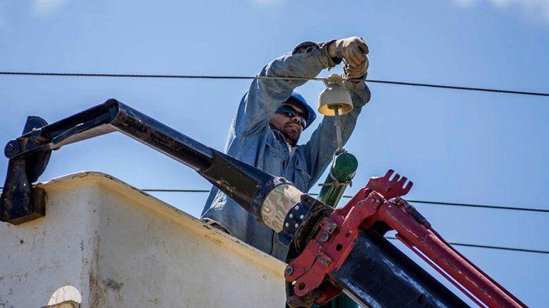 Edersa hará cortes de luz para mejorar la red de la ciudad