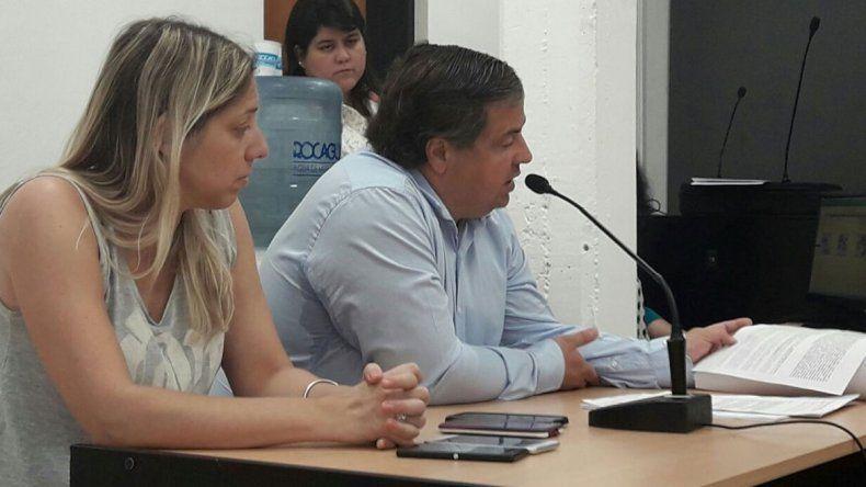 El fiscal Pezzetta se encargó de la acusación en contra de la mujer.