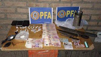 Desbaratan otro kiosco de droga en el Luis Piedrabuena: había cocaína y dinero