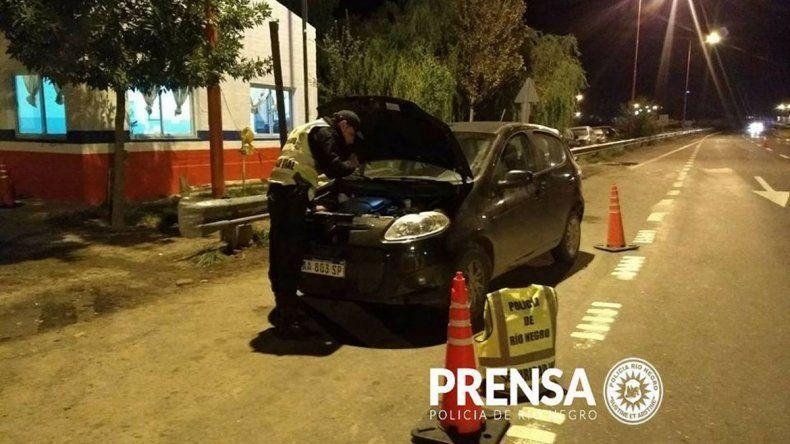 Cayó con un auto robado en Cipolletti