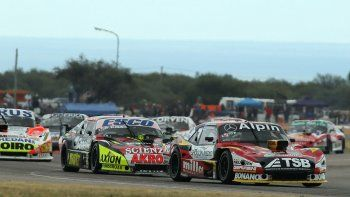 Urcera pasó a varios autos en la final, aunque no quedó conforme.