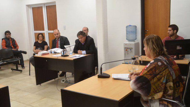 La jueza Martín y los acusadores coincidieron en el plazo de la preventiva.