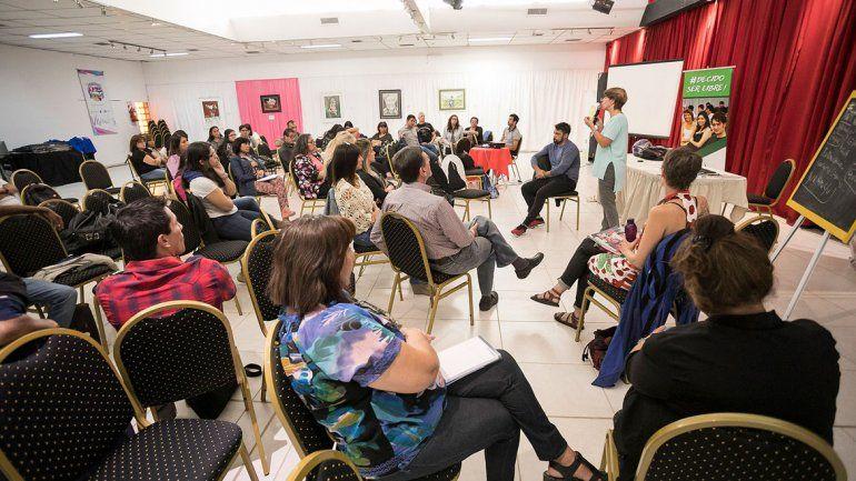 El encuentro se realizó ayer en el Centro Cultural de Toschi y Tres Arroyos.