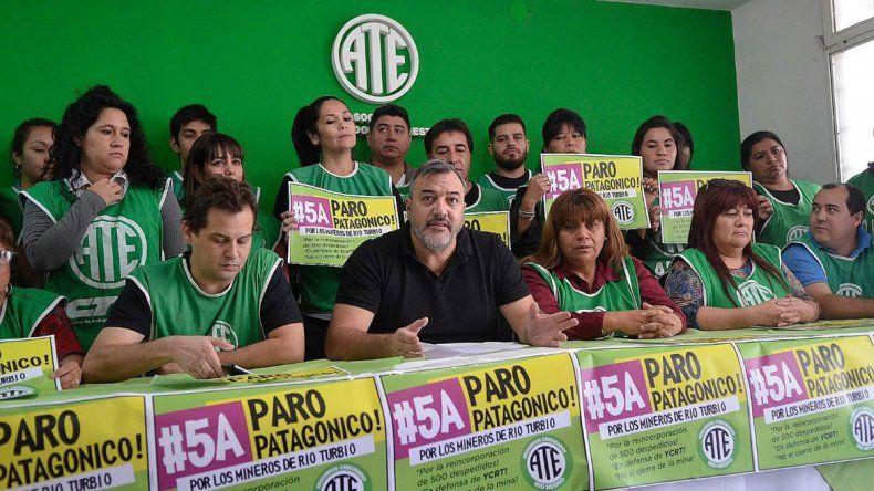 El sindicato firmó la paz con el Gobierno