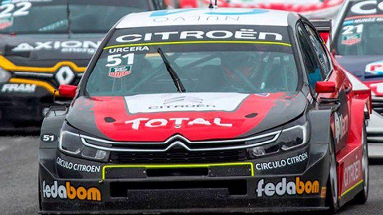 Urcera irá por la segunda fecha del Súper TC 2000 a Rosario.
