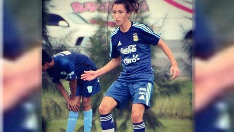 Una rionegrina en la selección de fútbol femenino