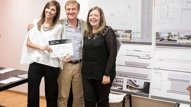 Premiaron a los diseñadores del edificio municipal
