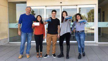 Cuatro estudiantes y un docente se capacitarán en Estados Unidos