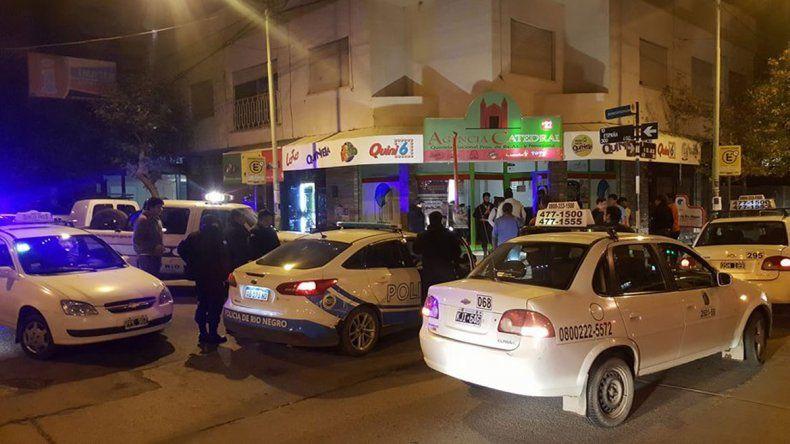 Los taxistas atraparon a los ladrones en distintos puntos de la ciudad.