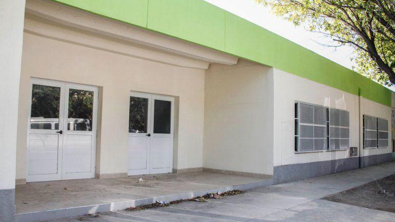 El edificio del jardín 120 del barrio La Paz fue refaccionado íntegramente.