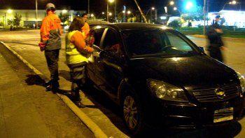 secuestraron 14 vehiculos durante los controles de transito el finde