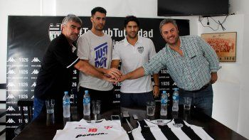Romera (Cipo) y Fedele (Independiente) se mostraron enchufados sólo en lo deportivo en la previa al partido 3.