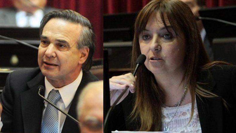 Pichetto y Odarda elegidos como los más trabajadores del Senado