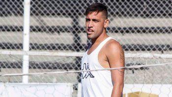Matías Sosa terminará su contrato con el Albinegro el 30 de junio.