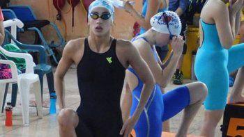 La cipoleña Lola Cantera se fue a Brasil con la selección mayor de natación.