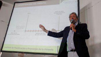 Barragán aseguró que con el plan aumentará el recupero de fondos del IPPV.