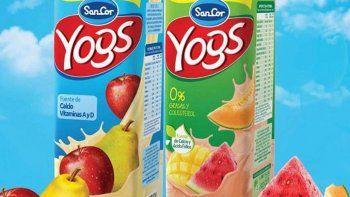 piden retirar del mercado 11 lotes del yogur bebible de sancor