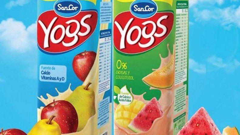 Piden retirar del mercado 11 lotes del yogur bebible Sancor
