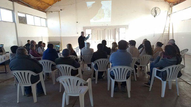 Poca concurrencia tuvo ayer la reunión explicativa del Plan Director.