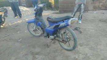 Ayer por la tarde se recuperó una moto robada en El 30.