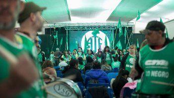 Más de 1500 afiliados a ATE estuvieron ayer en el Círculo Italiano.