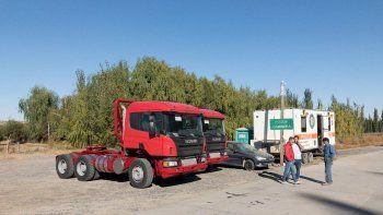 retuvieron dos camiones por falta de documentacion