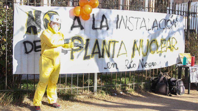 El movimiento antinuclear le pegó duro a Pichetto