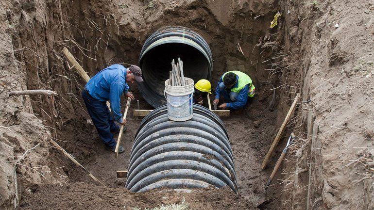 Las obras pluviales son una demanda histórica en la ciudad para facilitar el escurrimiento de las lluvias. Ya hay emprendimientos en marcha.