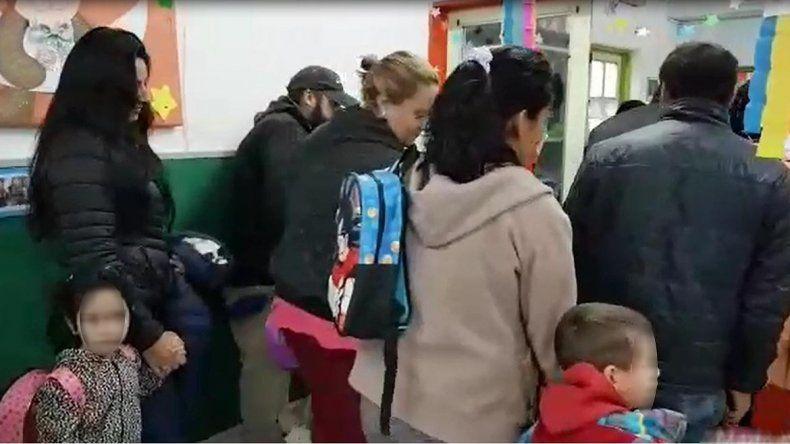 Nenes de Ferri sin clases porque no tienen porteros ni calefacción
