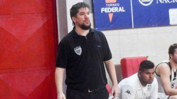 Rubio lleva dirigidas 7 temporadas en el Federal de básquet, la última fue en Cipo, donde llegó a cuartos de final.