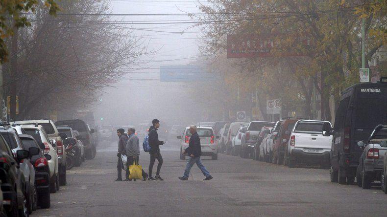 La niebla complica el tránsito en la región