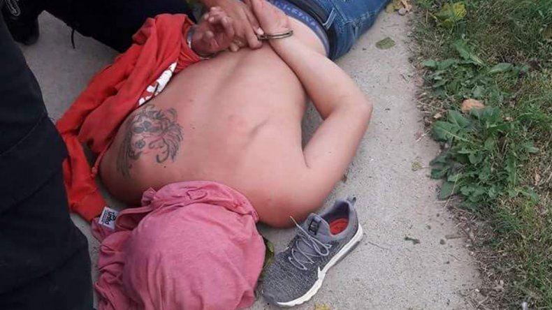 Detuvieron a un ladrón que asaltó a una mujer