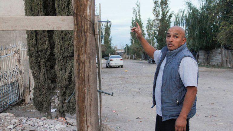 En La Alameda exigen un reparto de leña anticipado