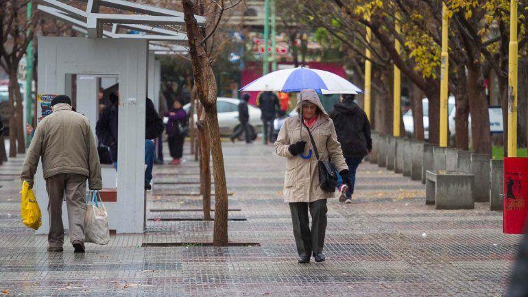 ¡A sacar el paraguas! Se vienen cinco días de lluvia en el Alto Valle