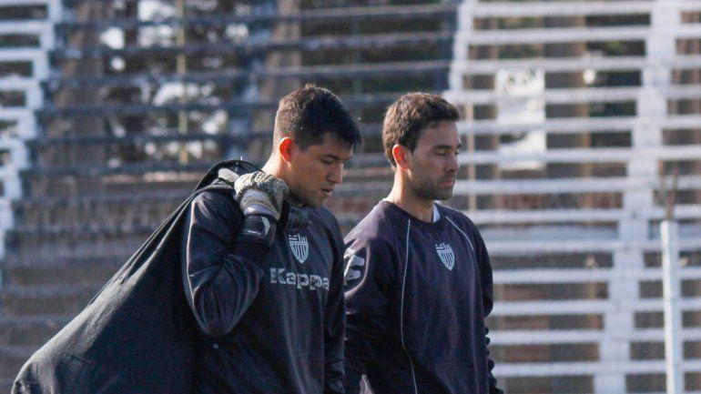 Crespo y Alasia continúan con los entrenamientos en La Visera.