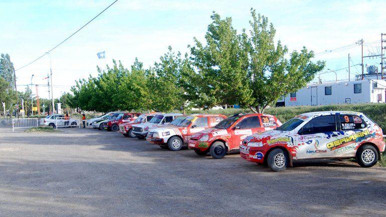 Desde Allen aceleran 42 autos por la tercera fecha del Rally Regional
