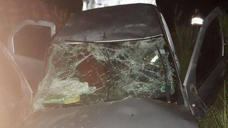 Dos nenas de 7 y 11 años están graves tras un vuelco sobre la Ruta 40