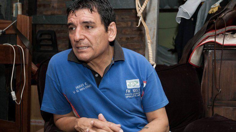El Comandante Hugo Escobar aseguró que quiere ser intendente cipoleño.