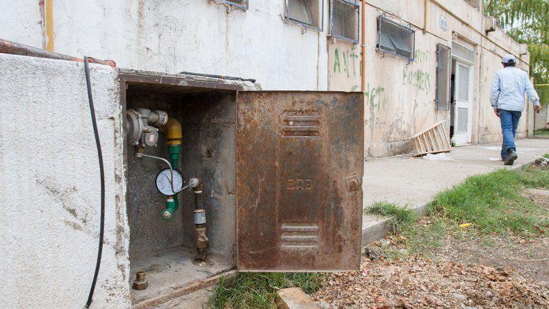 En el edificio habían cortado el gas para realizar refacciones durante el verano.