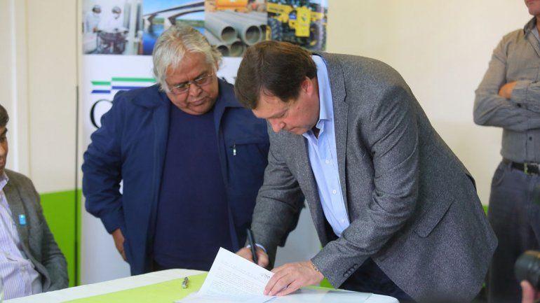 La Provincia cerró nuevos acuerdos por el Plan Castello