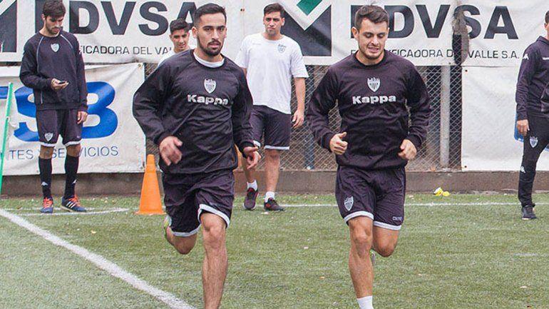 Midolini viene de ascender con Argentinos del Norte del C al Amateur.