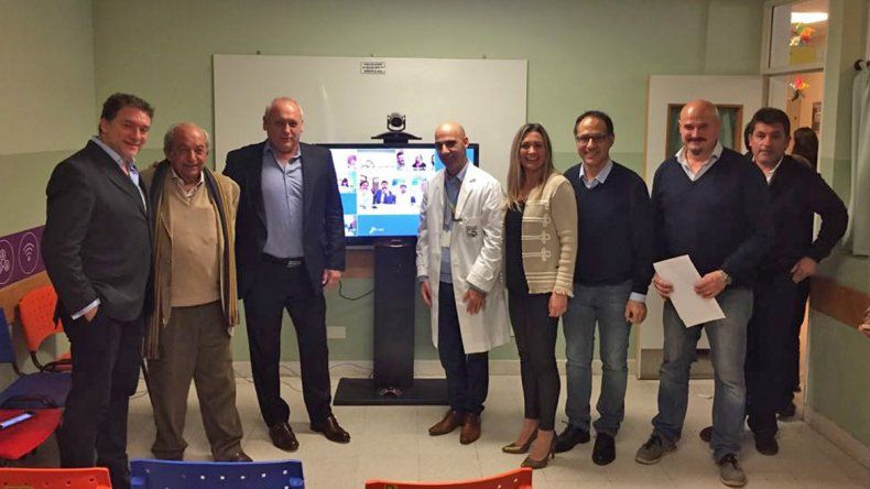 Conectaron 7 hospitales rionegrinos a la red nacional de telemedicina