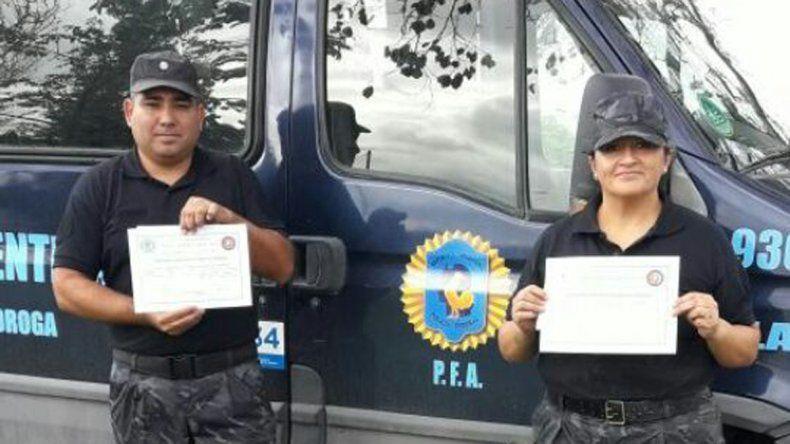 Efectivos rionegrinos fueron capacitados por la Policía Federal Argentina